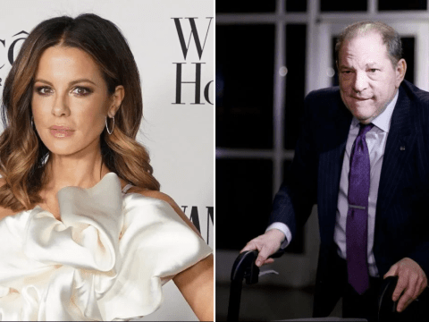 Kate Beckinsale details vile interaction with Harvey Weinstein as she celebrates 23 year sentence