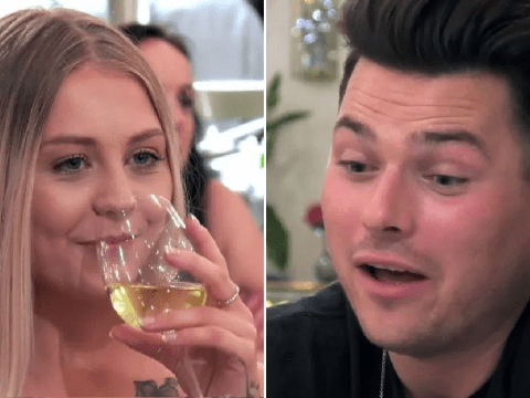 First Dates contestant hands love interest cast of her vagina and the internet is in meltdown