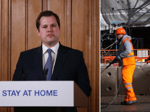 Government accused of 'putting money above lives' by letting builders go to work