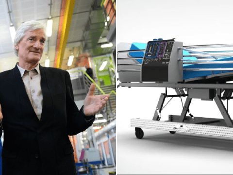 Dyson comes up with design for ventilator to help NHS during coronavirus pandemic