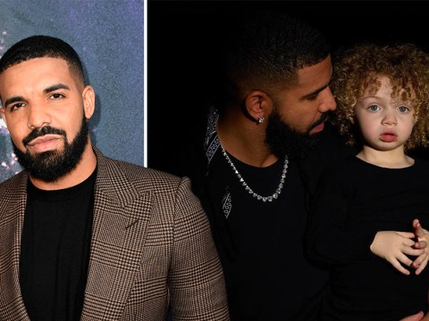 Drake shares adorable first pics of son Adonis as he looks forward to family reuniting after coronavirus pandemic