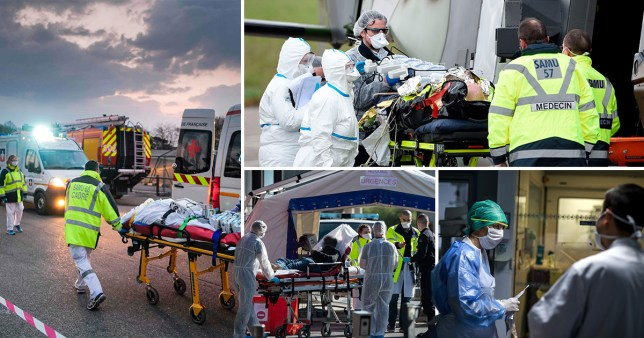 France's death toll soars past 3,000