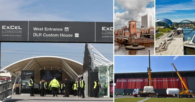 10 more UK sites to become makeshift coronavirus hospitals