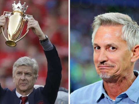 Gary Lineker mocks Arsenal after Liverpool's unbeaten run is ended by Watford