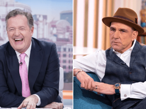 Piers Morgan forced to apologise for swearing as he repeats Vinnie Jones' savage birthday message