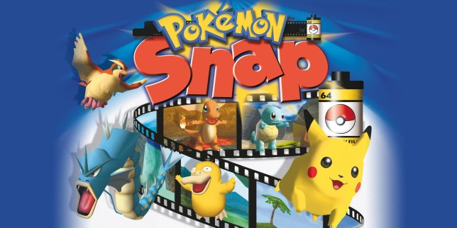 Pokemon Snap artwork