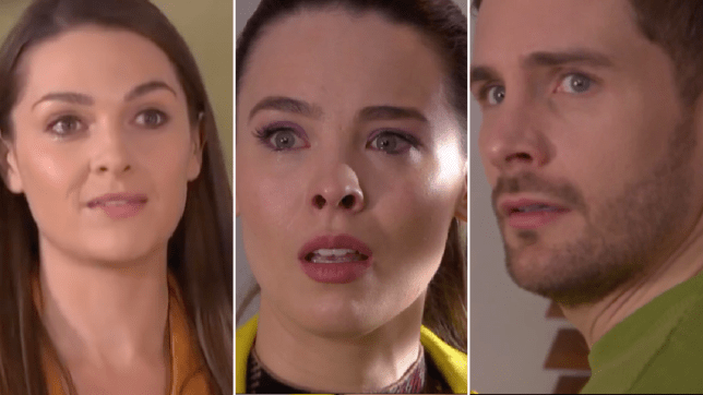 Sienna, liberty and Brody in Hollyoaks
