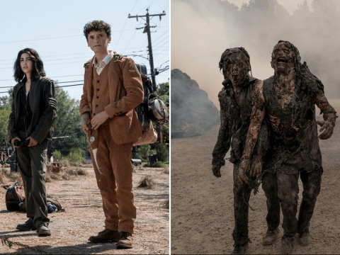 The Walking Dead spin-off World Beyond shares first look images as first generation of zombie apocalypse survivors fight back