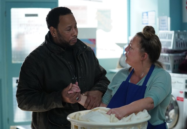 Mitch, karen and Billy in EastEnders