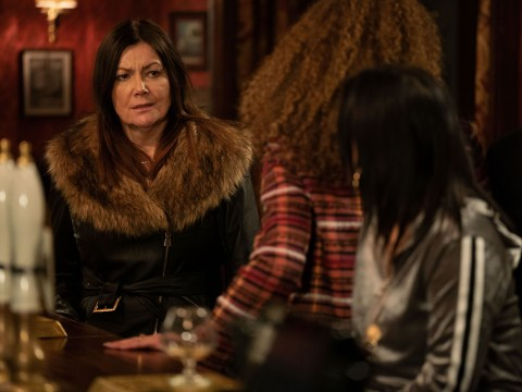 Who is Leo's mum Michaela and who plays her in EastEnders?