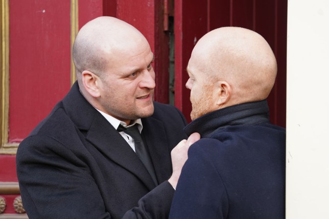 Stuart and Max in EastEnders
