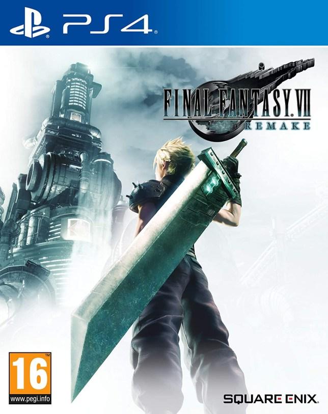 Final Fantasy 7 Remake box