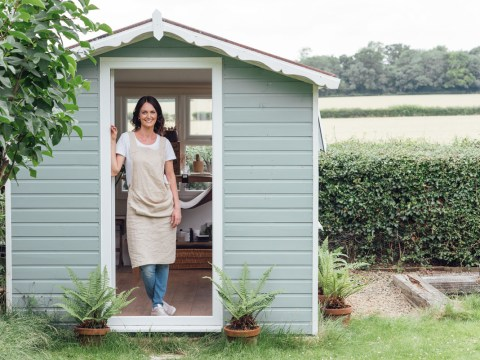 Where I Work: Alice, the jewellery designer working from her shed in Stratford-upon-Avon