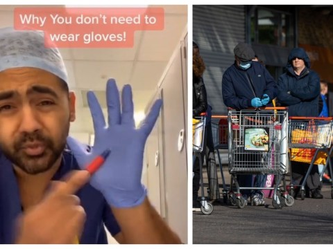 Doctor uses TikTok to show why you shouldn't wear gloves to the supermarket