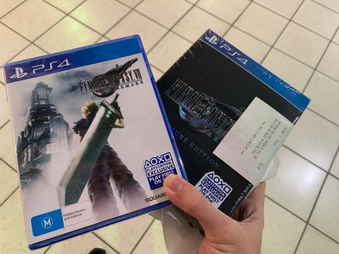 Final Fantasy 7 Remake is available to buy in Australia now, 10 days before launch