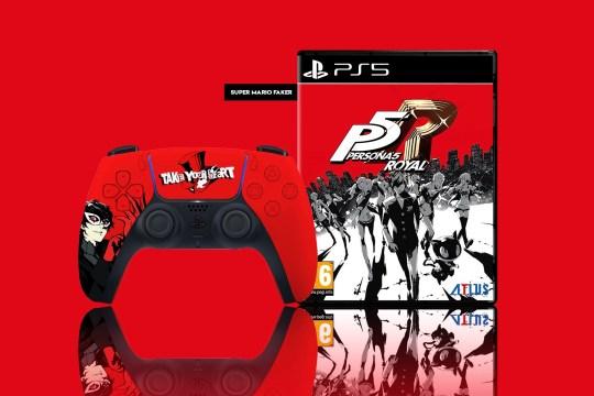 PS5 DualSense controller Persona 5 Royal