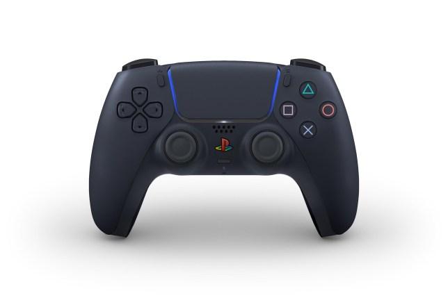 PS5 DualSense black colour scheme