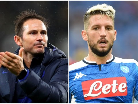 Frank Lampard holds talks with Dries Mertens over Chelsea transfer