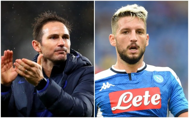 Frank Lampard is keen to sign Dries Mertens for Chelsea