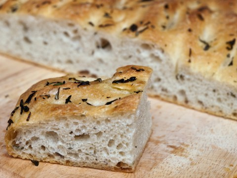 Bake focaccia bread at home with this easy four-ingredients recipe from Bread Ahead