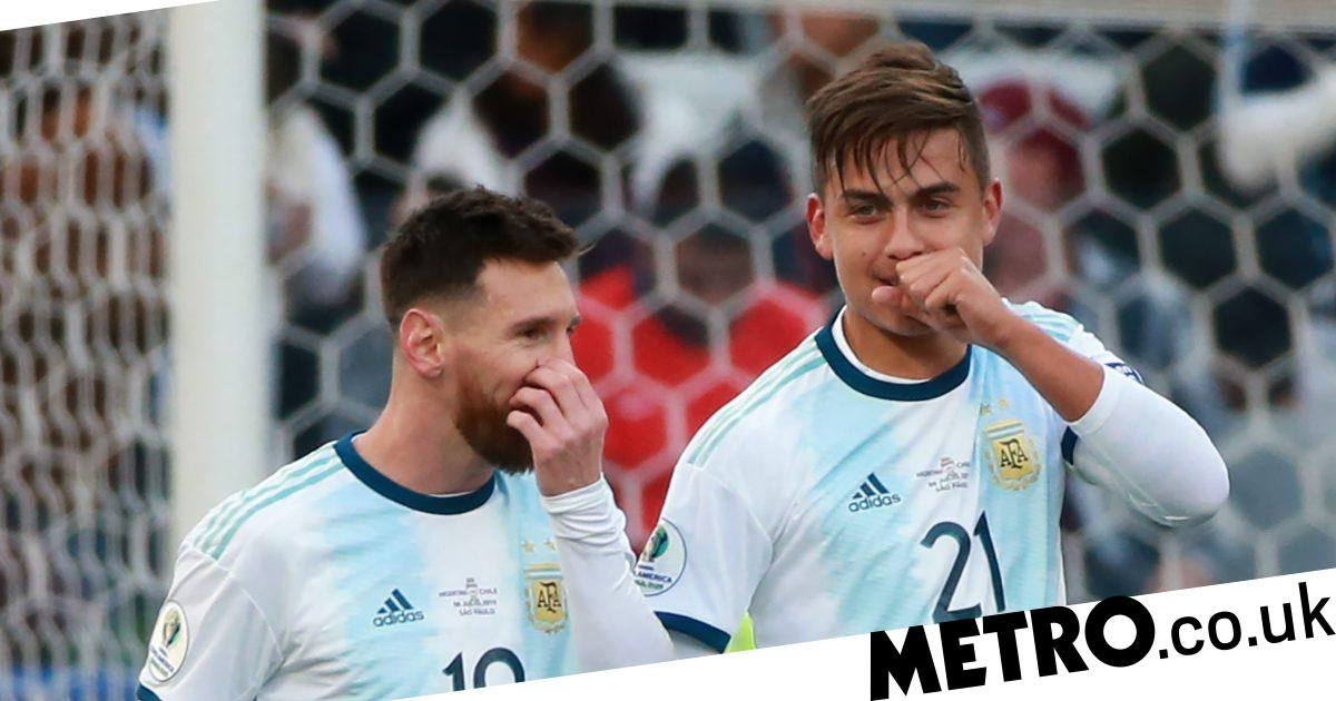 Paulo Dybala apologises for Messi criticism & reveals Cristiano Ronaldo surprise - Metro.co.uk