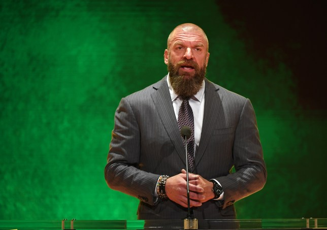 WWE superstar and legend Triple H