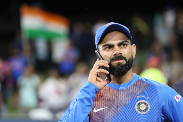 Michael Clarke says Australia were 'scared' to sledge India captain Virat Kohli