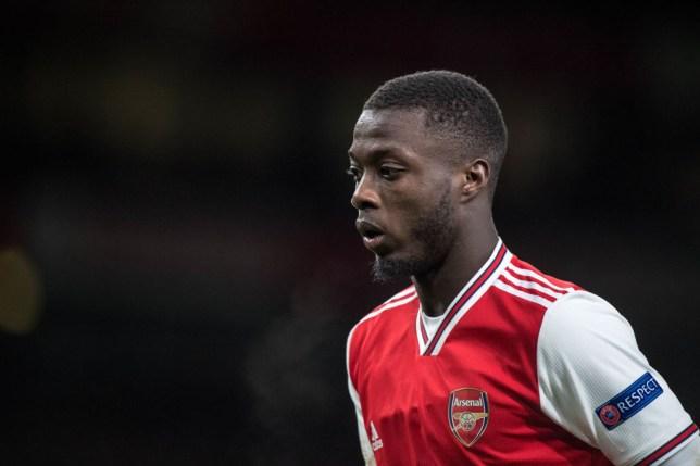 Nicolas Pepe of Arsenal FC