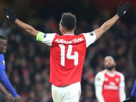 Pierre-Emerick Aubameyang admits he didn't want Thierry Henry's iconic Arsenal squad number