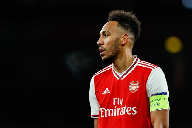 Pierre-Emerick Aubameyang of Arsenal FC