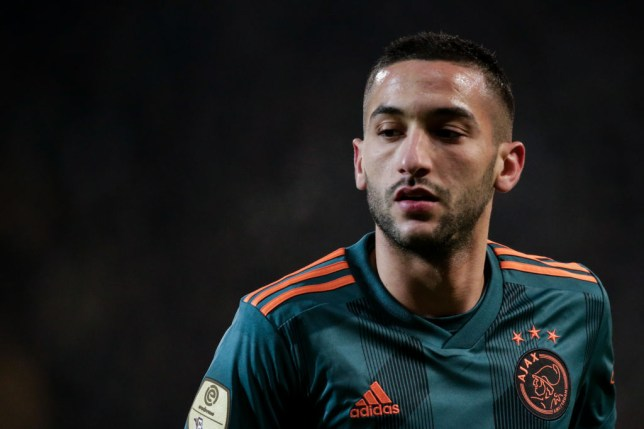 Hakim Ziyech's transfer from Ajax to Chelsea was confirmed earlier this year