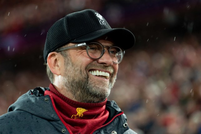 Liverpool head coach Jurgen Klopp