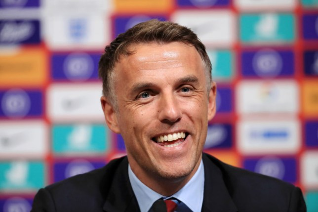 Phil Neville, former Manager of England Women