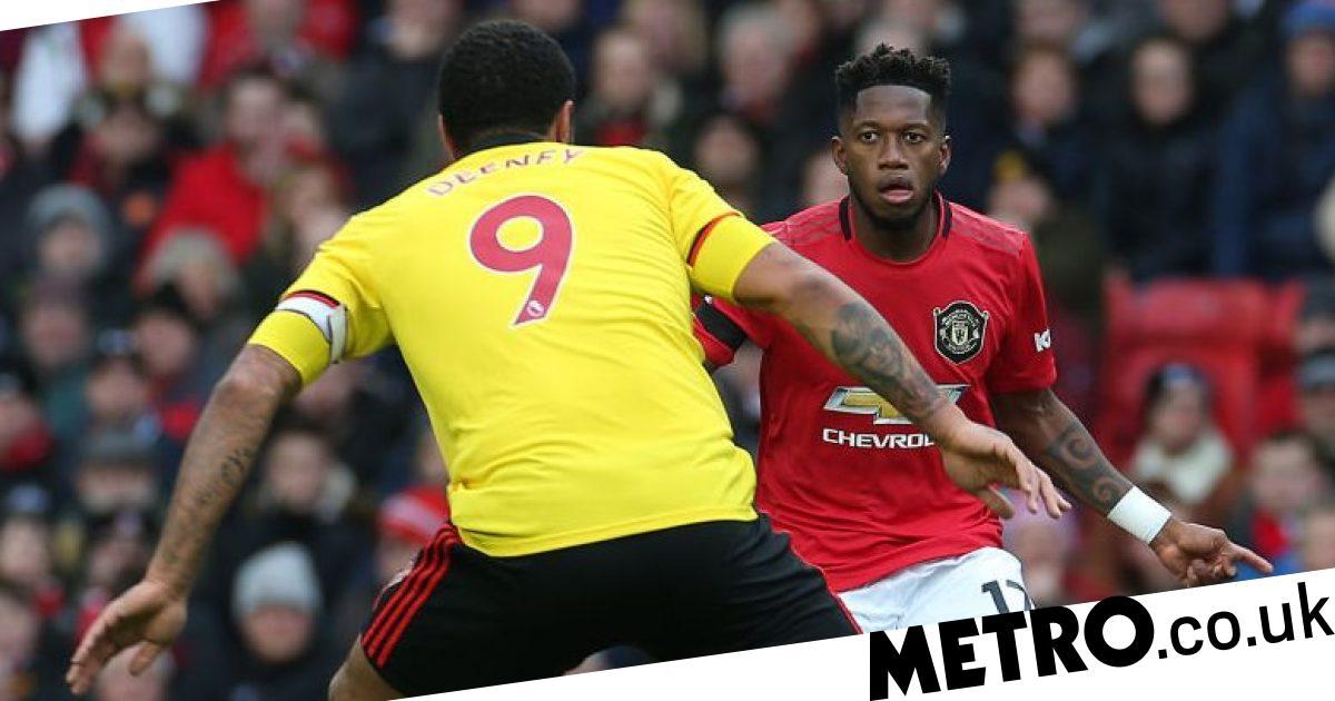 Troy Deeney reveals Watford targeted Man Utd star Fred as a weakness - Metro.co.uk