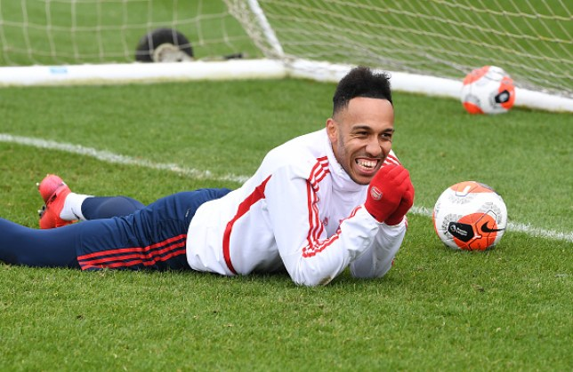 Pierre-Emerick Aubameyang has just over one year remaining on his current Arsenal contract