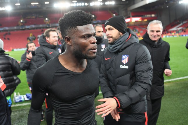 Thomas Partey is yet to agree a new contract with Atletico Madrid and has been linked with the likes of Arsenal and Manchester United
