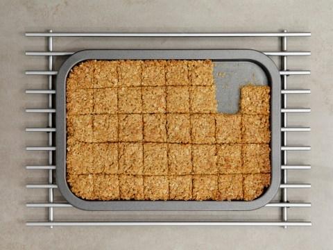 Three-ingredient storecupboard flapjacks you can make during lockdown