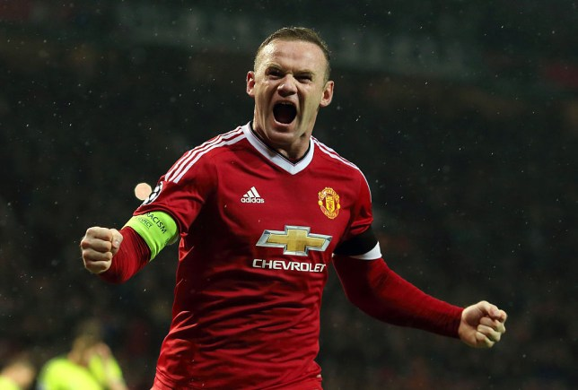 Manchester United star Wayne Rooney celebrated Liverpool beating Chelsea
