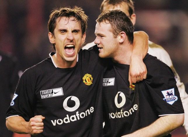 Man Utd legends Gary Neville and Wayne Rooney