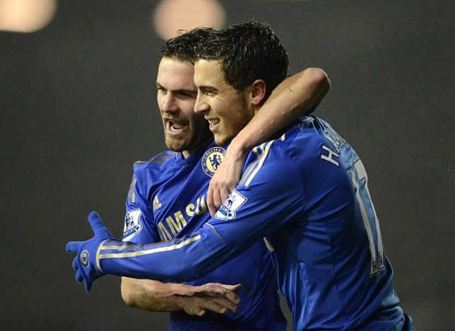Juan Mata admits he loved playing with Eden Hazard (Picture: Getty)