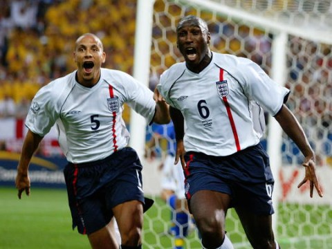Sol Campbell names Rio Ferdinand as his best centre-back partner for England