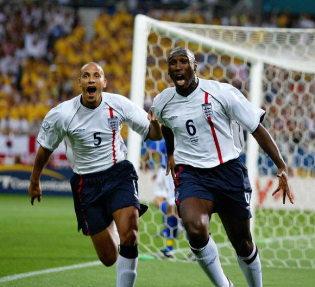 Rio Ferdinand and Sol Campbell