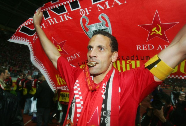RIo Ferdinand guided Manchester United to Champions League glory in 2008 (Picture: Getty)