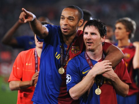 Lionel Messi was starstruck when Thierry Henry joined Barcelona from Arsenal