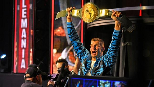 NFL star Rob Gronkowski wins WWE 24/7 Championship at WrestleMania 36