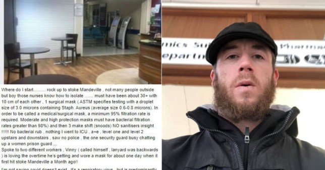 Kierran Stevenson, 32, was sentenced to three months in prison at Oxford Magistrates' Court after posting his exploits on Facebook.
