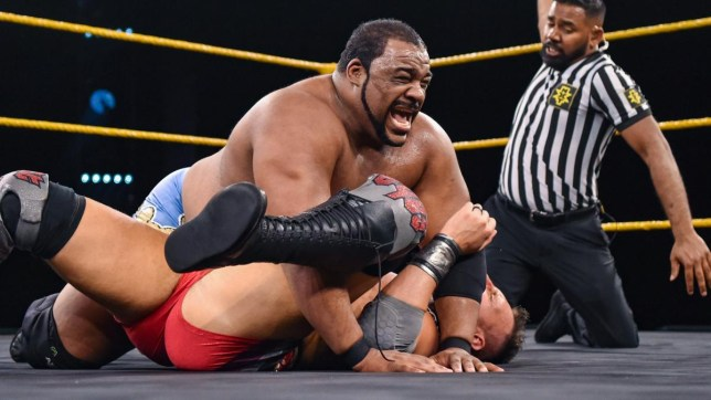WWE superstar Keith Lee defends the North American championship on NXT