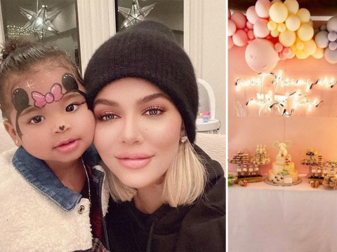 Khloe Kardashian's got an epic virtual birthday party planned for True turning two years old