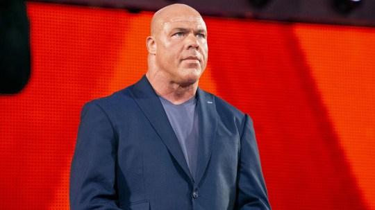 WWE Hall of Famer Kurt Angle on Raw