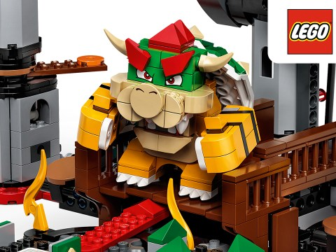 Lego Nintendo Bowser's Castle set revealed with motion control features